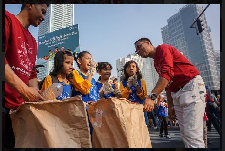 Asuransi Jasindo dalam acara Plastic is not Fantastic
